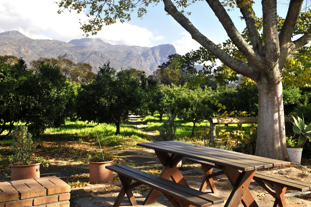 Le Pavillon Cottages Happy Valley Accommodation in Franschhoek
